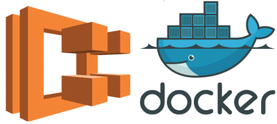 AWS and Docker Logo