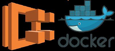 AWS and Docker Logo